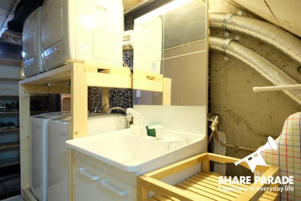 1Fにある洗面所です。