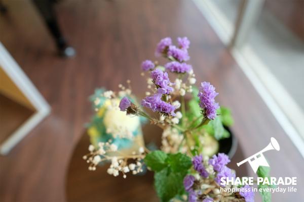 お花も飾られていました