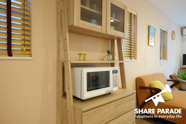 木目調の家具はどこか落ち着きます。