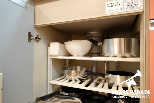 調理器具もいろいろ。