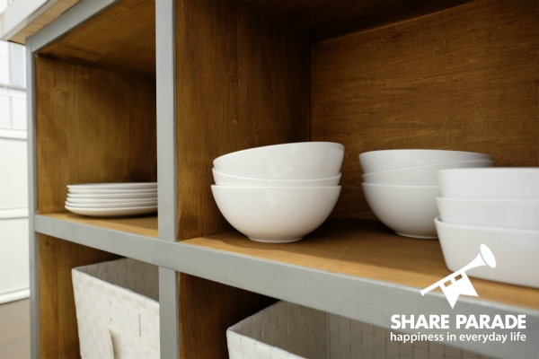 共用の食器なども用意されています。