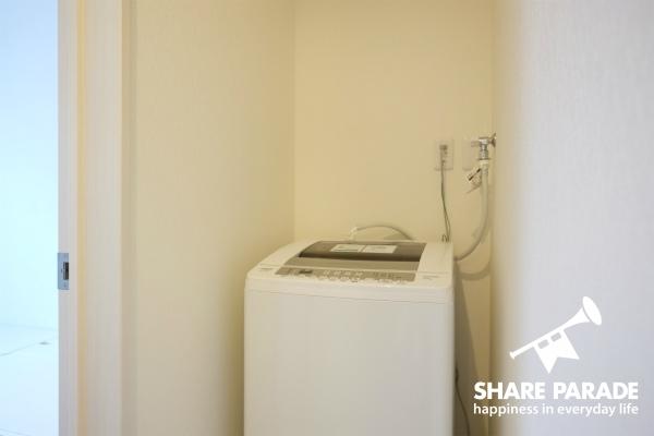 洗濯機も各フロアにあります。