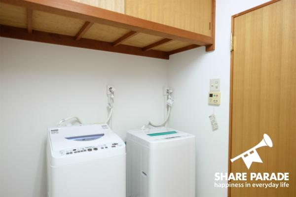 洗濯機が2台あります。