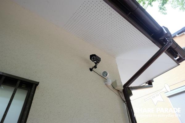 防犯カメラもあります。