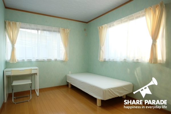 お部屋は4.3~7帖の広さのタイプがあります。