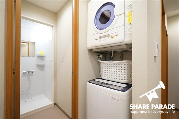乾燥機も標準完備です。