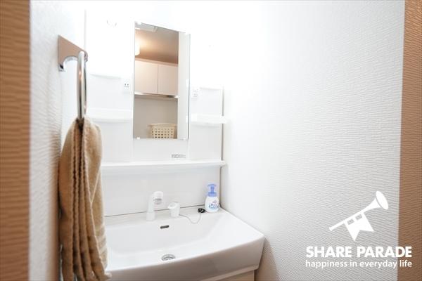 洗面所は1Fと2Fとぞれぞれにあります。