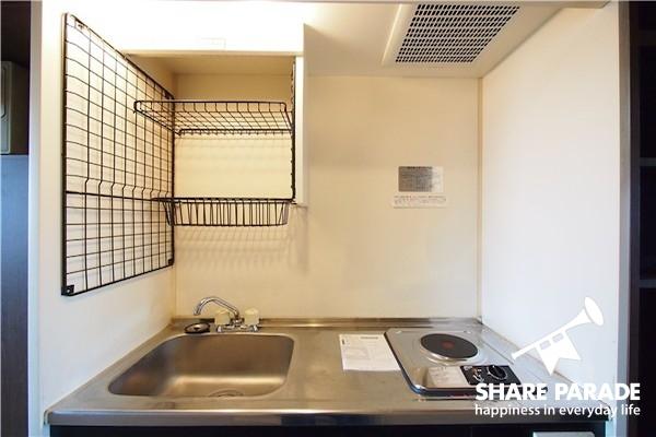 こちらは個室についているキッチン!贅沢ですね!