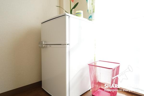 個室にも冷蔵庫があります!