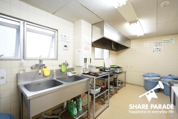 こちらはキッチンスペースです。