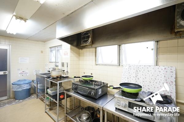 調理器具も揃っていて不便することはありません!