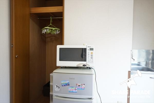 家電は占有です。