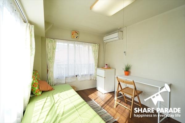 お部屋も広くて、快適です。