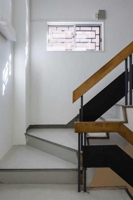 レトロな階段。
