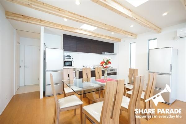 家具もデザイナーズのものがセレクトされています。