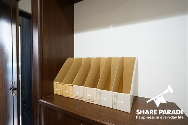 各居室ごとの郵便受けです。