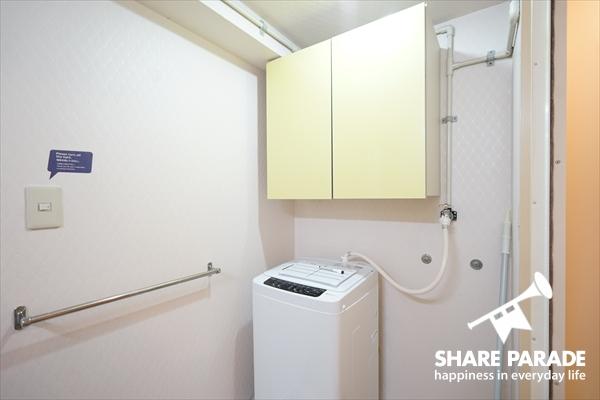 洗濯機は各フロア毎にあります。