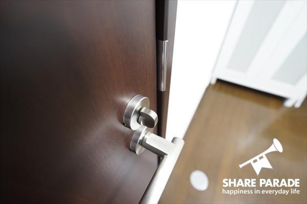 お部屋の鍵かかります。
