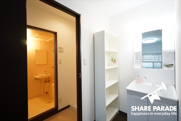 ドミトリーは、室内にお部屋に洗面・トイレ・バスルームがついています。