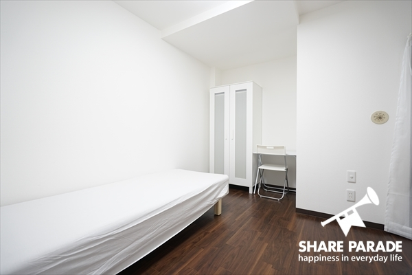 個室は、4.3~7帖と様々な広さがあります。