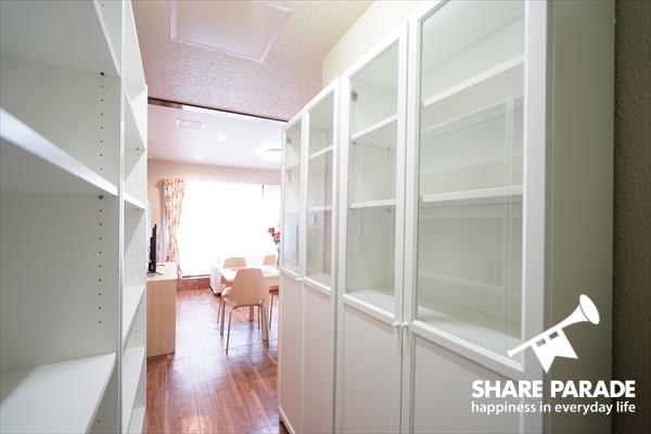 キッチン収納スペースです。