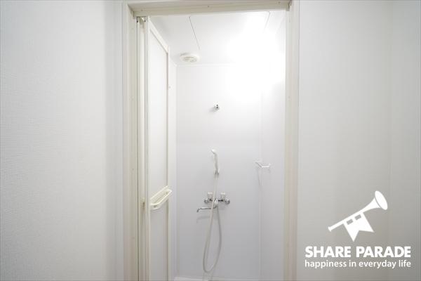 シャワーブースです。