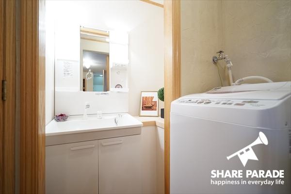 洗濯機は簡易乾燥付きです。