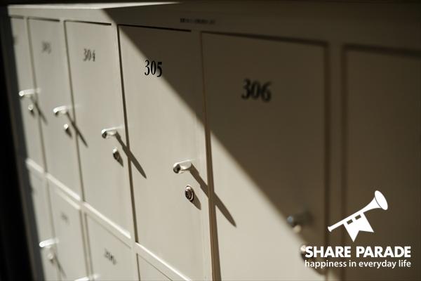 シューズBOXはお部屋毎にあります。