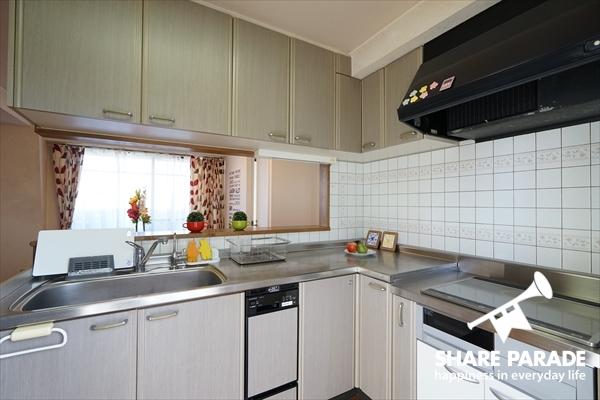 キッチンはIHで安心です。