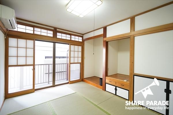 1部屋だけ和室があります。