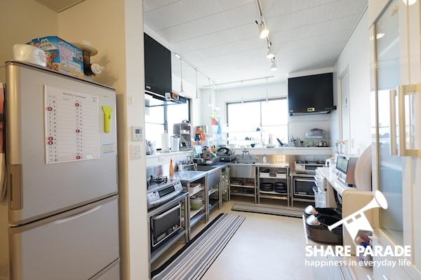 広々としたキッチンです。