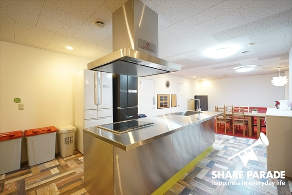 こんな大きなキッチンで何をつくろうか?