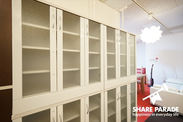 各お部屋毎に収納スペースがあります。
