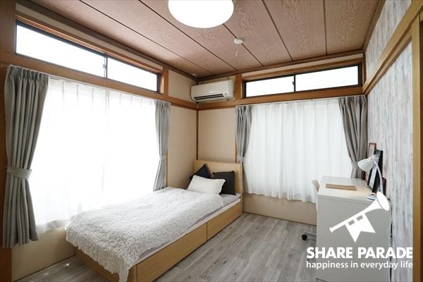 個室は2部屋あります。