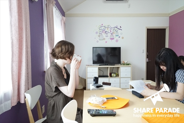 If you want to improve Japanese, living in a shared house‼