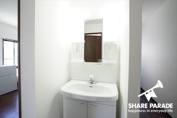 洗面は、1Fと2Fにそれぞれ。