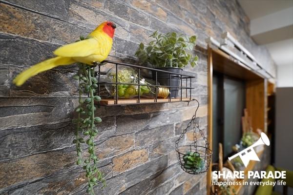 鳥さんも居心地がよさそう。