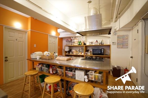 キッチンも2か所にあって楽々。