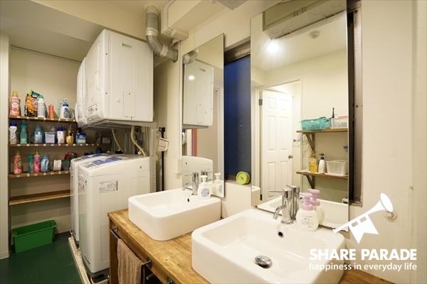 シンプルな洗面です。