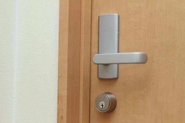 鍵もかかるので安心。