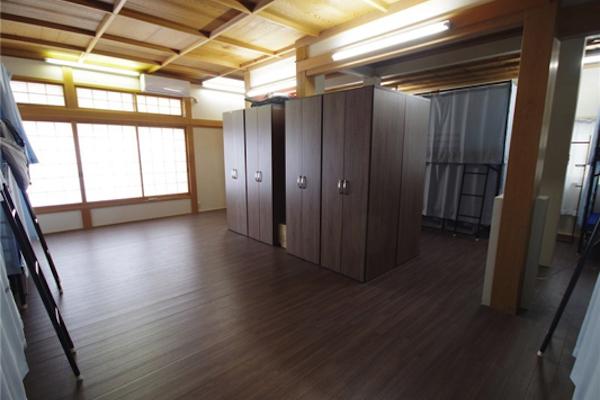 収納スペースもきちんと確保されています。