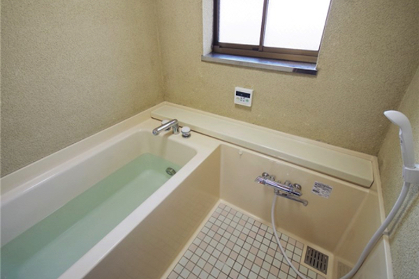ゆったりしたい日にはお風呂で浴槽につかって。