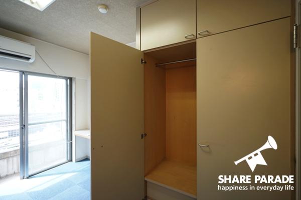 収納スペースが広々で安心。