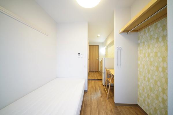 壁紙が変わるとお部屋の雰囲気も変わりますね。