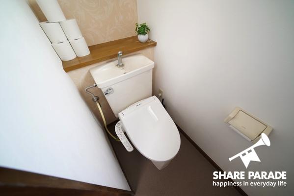 各階にトイレ