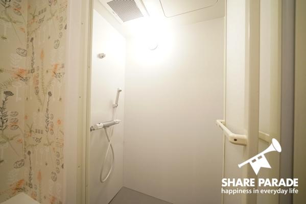 シャワールームがあります。