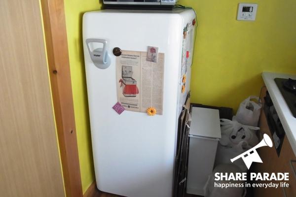 冷蔵庫の様子です