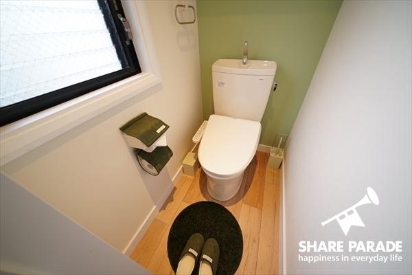 トイレは4式あります。