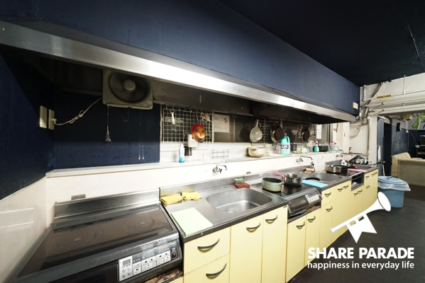 キッチンも広くて使いやすいdす。