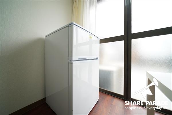 各お部屋に冷蔵庫があるのが嬉しい。